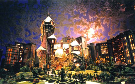 O cenário de 'Castelo Rá Tim Bum'.