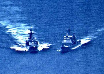 Os dois países se acusam mutuamente de comportamento perigoso e pouco profissional depois do incidente desta sexta-feira no mar do leste da China