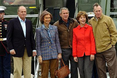 Los Reyes almuerzan en privado con los Bush en el rancho de Tejas | España | EL PAÍS