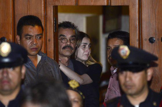 Gonzalo García, filho de García Márquez, no anúncio de sua cremação.