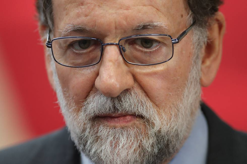 O presidente do Governo, Mariano Rajoy.