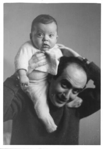 Vladimir Herzog e o filho, Ivo.