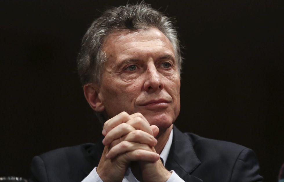 Mauricio Macri, presidente da Argentina.