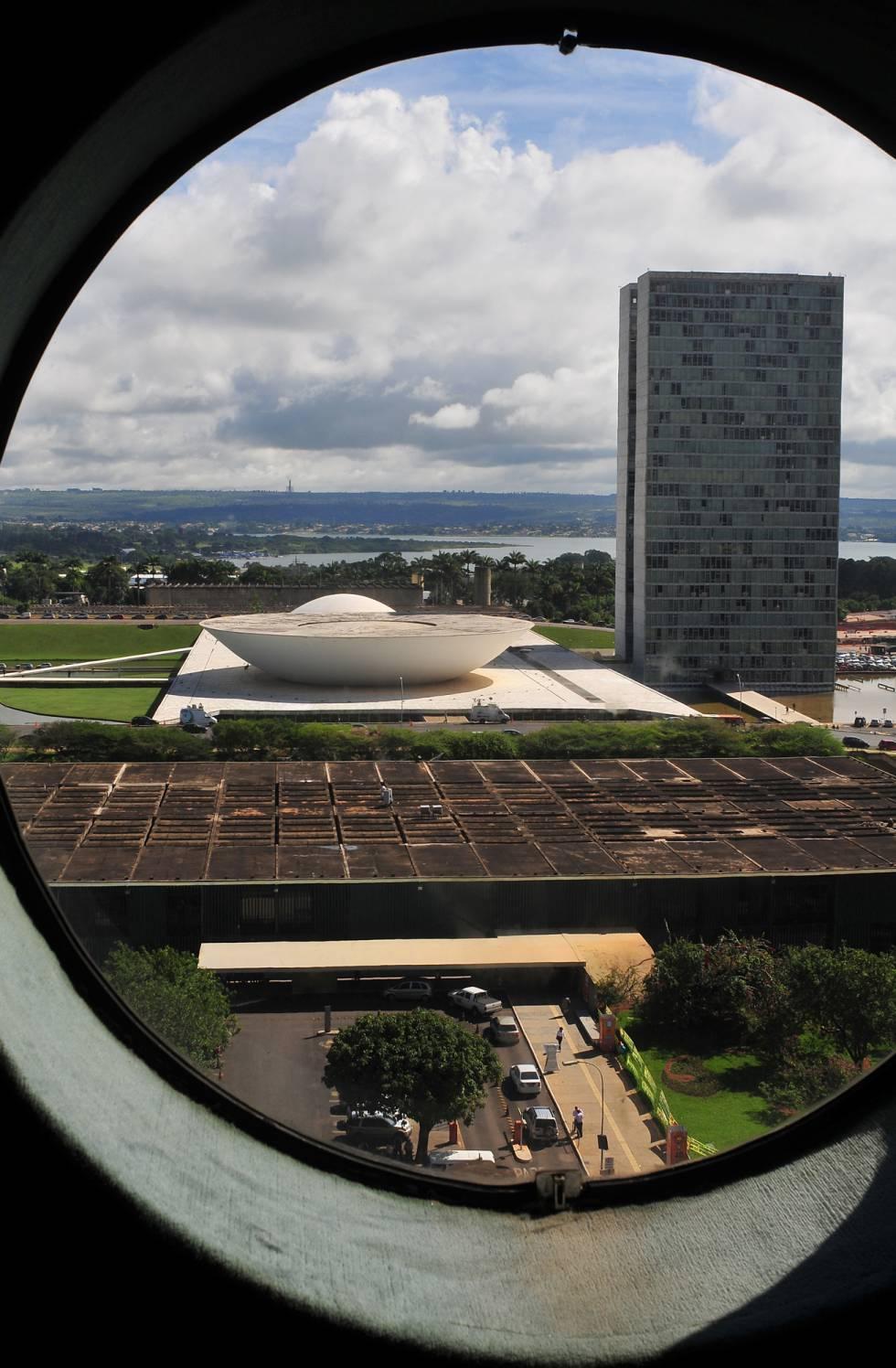 Vista de Brasília.