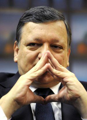 O presidente da Comissão, José Manuel Durão Barroso.
