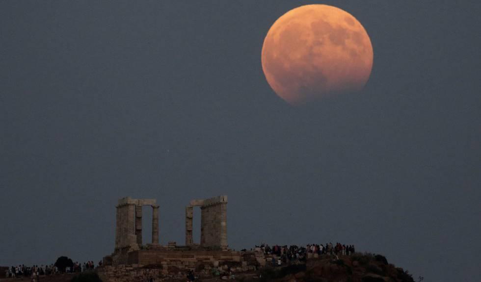 Nesta terça-feira acontecerá um eclipse lunar parcial visível no Brasil.