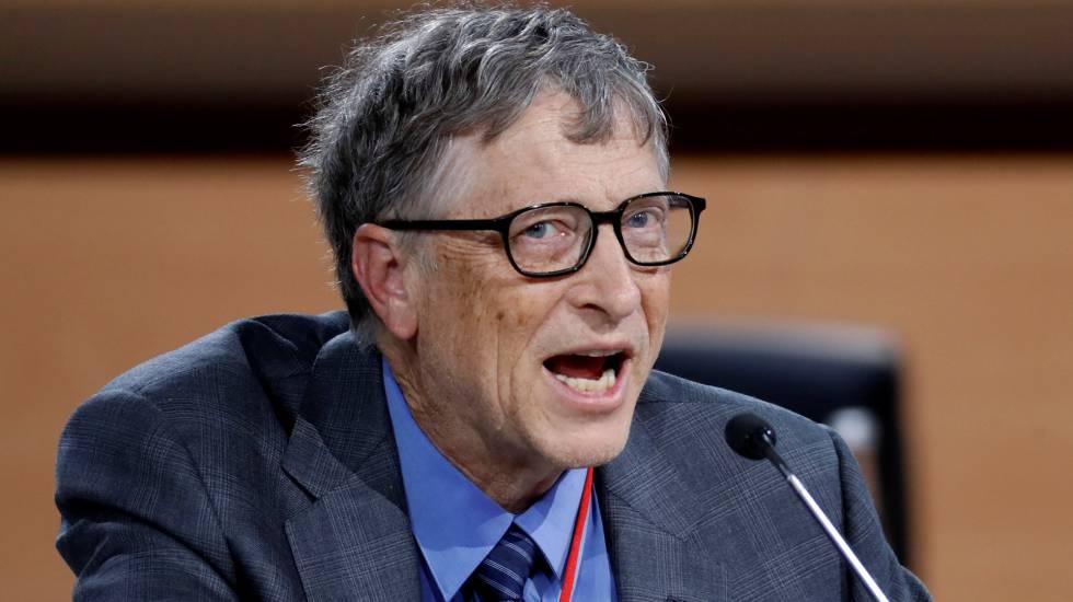 Bill Gates, cofundador da empresa Microsoft