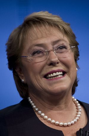 Michelle Bachelet began her second term in office on March 11.