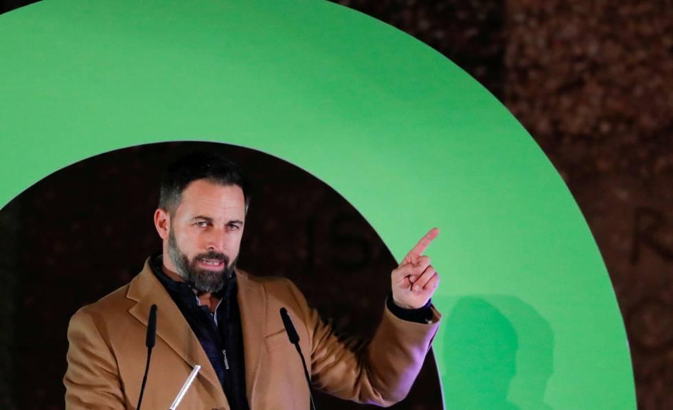 Santiago Abascal, do ultradireitista Vox.