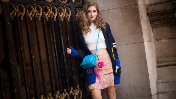 A blogueira Chiara Ferragni.