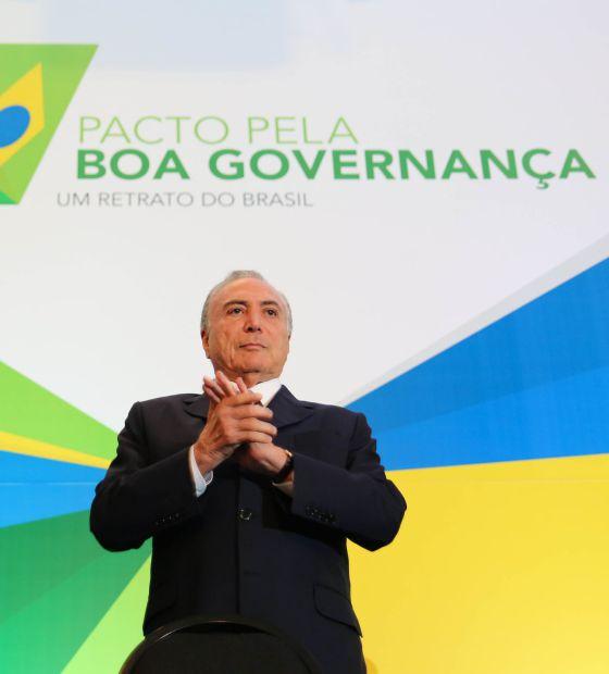 Michel Temer, vice-presidente do Brasil, em imagem de arquivo.