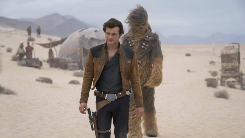 Quadro de 'Han Solo: Uma História Star Wars'.