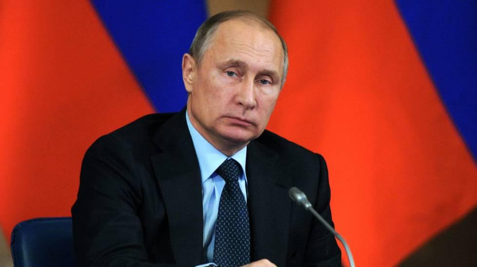 O presidente russo Vladimir Putin.