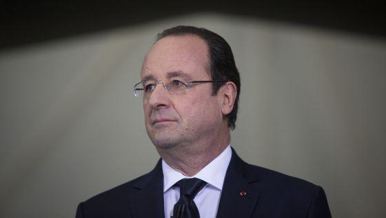 François Hollande, presidente da França.