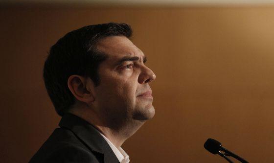 O primeiro-ministro grego, Alexis Tsipras, em 15 de maio em Atenas.