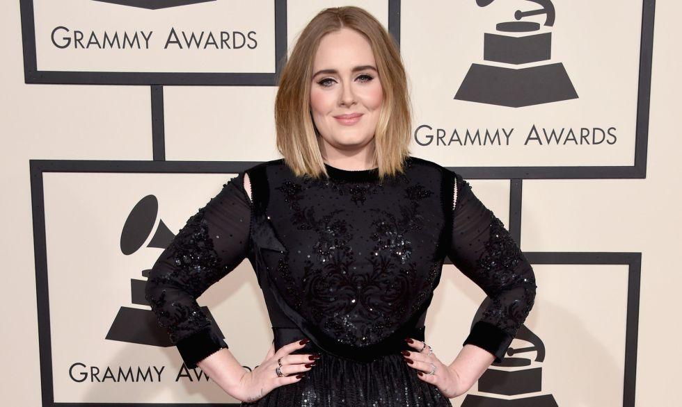 A cantora na cerimônia do último Grammy.