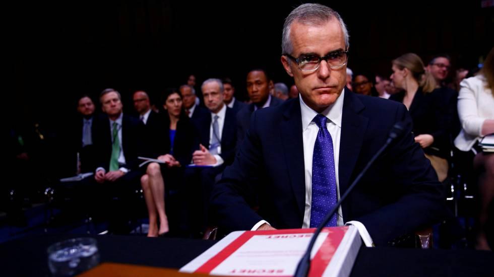 Ex-diretor do FBI Andrew McCabe