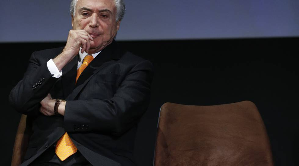 O presidente Michel Temer em 30 de maio.