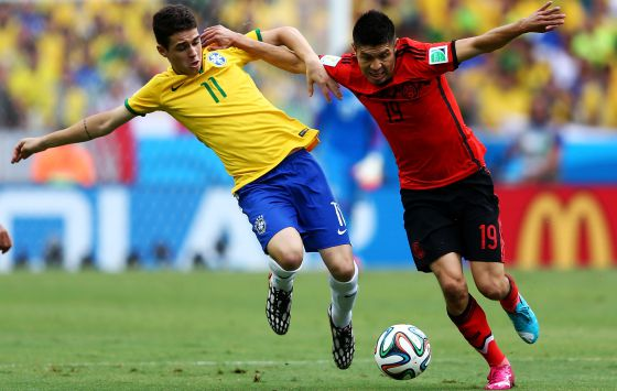 Peralta tenta superar o brasileiro Óscar.