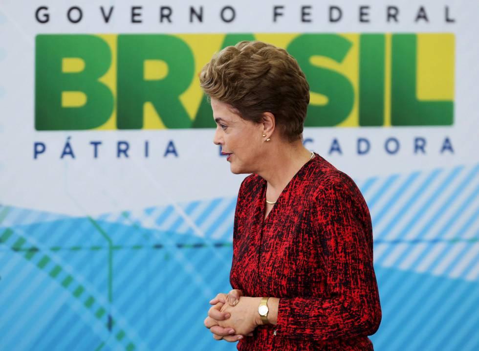 Dilma Rousseff no Planalto.