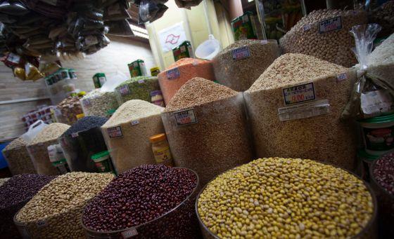 Alimentos estiveram entre os itens cujos preços avançaram em 2013.
