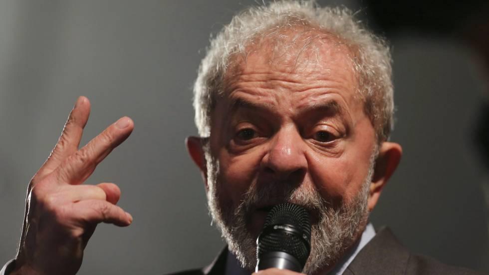 Ex-presidente Lula, condenado pelo juiz Sergio Moro em primeira instância.