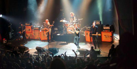 Eagles of Death Metal no Bataclan. / AFP