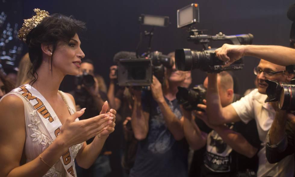 Taalin Abu Hana, ganhadora do primeiro concurso de beleza Trans Israel.