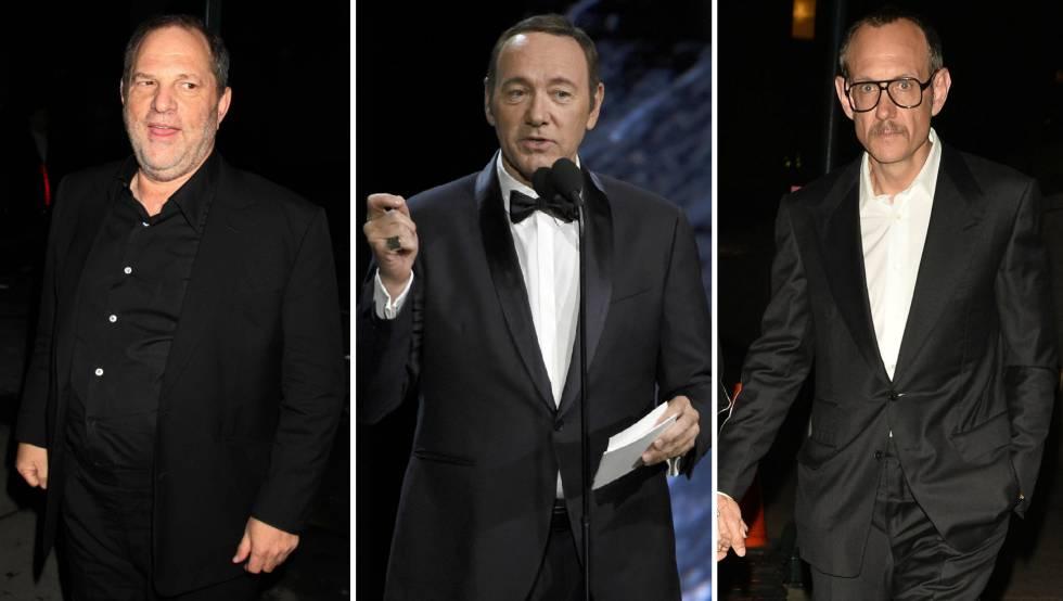 Harvey Weinstein, Kevin Spacey y Terry Richardson.