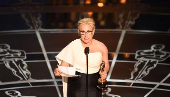 Patricia Arquette ganhou o Oscar de melhor atriz coadjuvante por 'Boyhood'.
