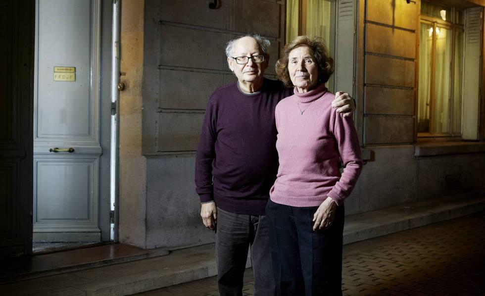 Serge e Beate Klarsfeld, em Paris.