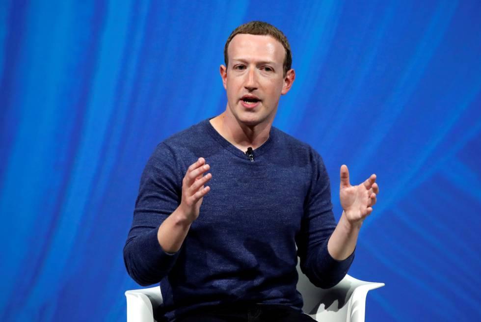Mark Zuckerberg, hoje em Viva Tech em Paris.