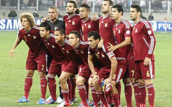 A equipe da Venezuela.