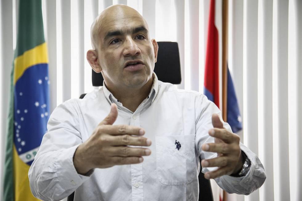 O juiz Luís Carlos Valois, que atuou para reféns na rebelião em Manaus, onde 56 presos morreram.