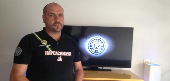 Marcello Reis, um dos líderes do Revoltados On Line.