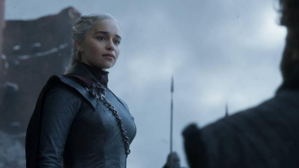 Cena do final de temporada de 'Game of Thrones'.