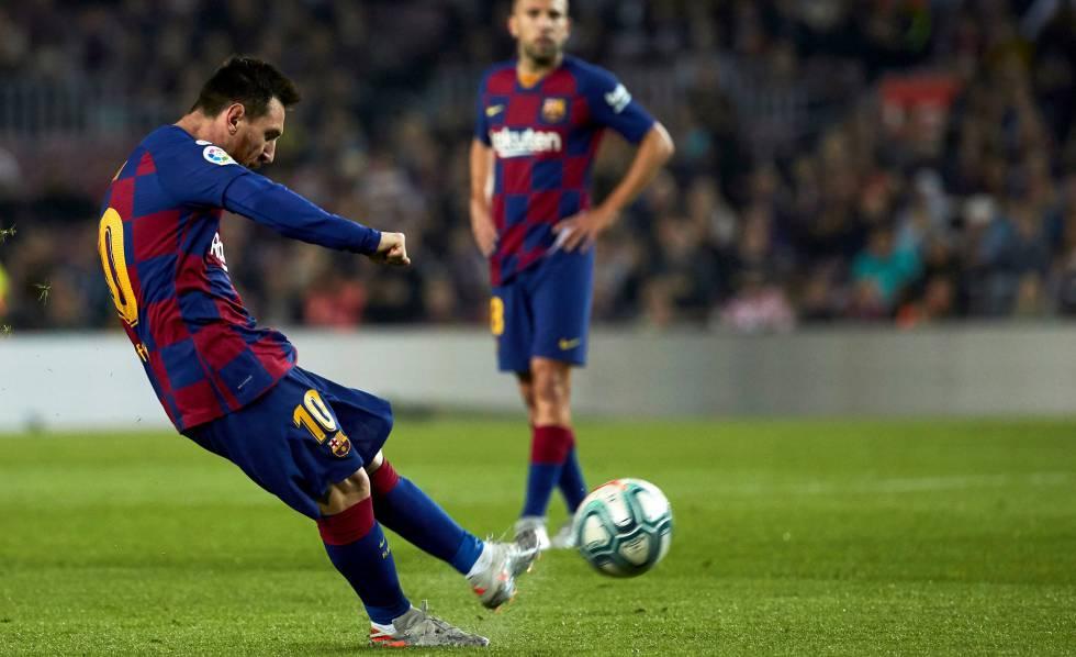 Messi em ação pelo Barcelona.