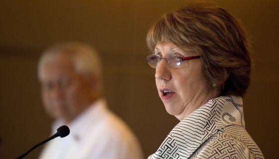 Catherine Ashton, alta representante para Política Externa da UE.