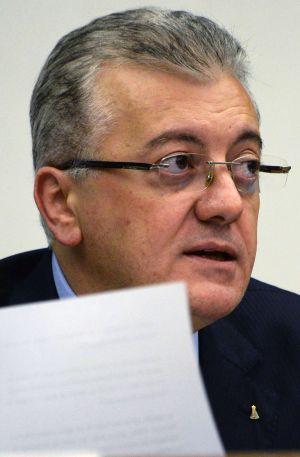 O presidente da Petrobras, nesta quarta-feira.
