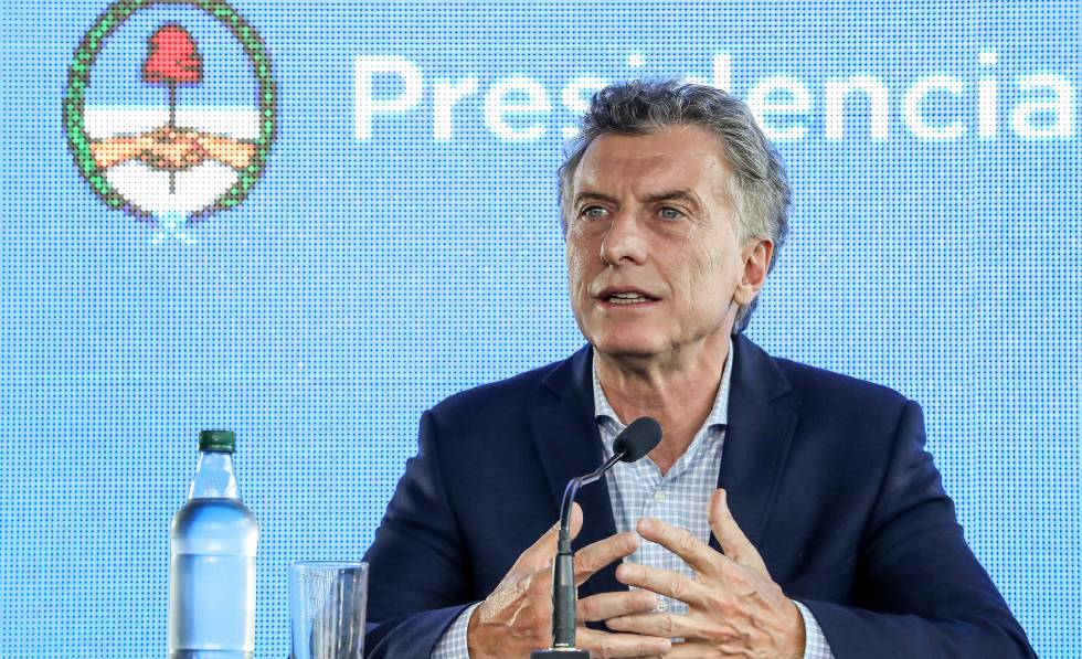 O presidente Mauricio Macri, em março, durante ato público na província de Jujuy (norte).
