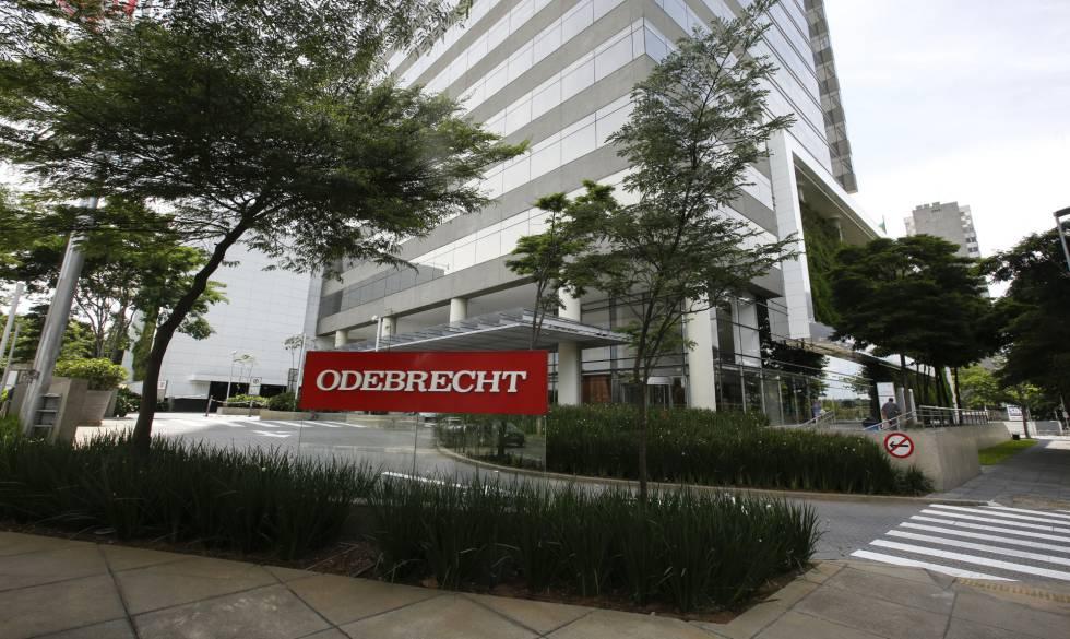 A sede da construtora Odebrecht em São Paulo.