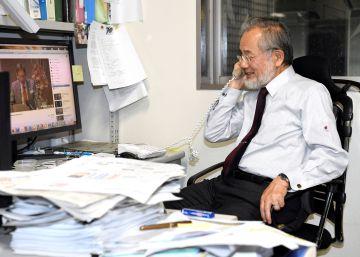 O pesquisador japonês Yoshinori Ohsumi é premiado pelo descobrimento dos mecanismos da autofagia