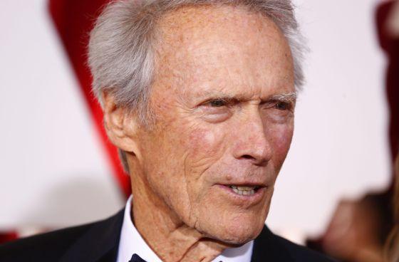 O ator, diretor e produtor Clint Eastwood.