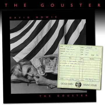 Capa do disco inédito de David Bowie, 'The Gouster'.