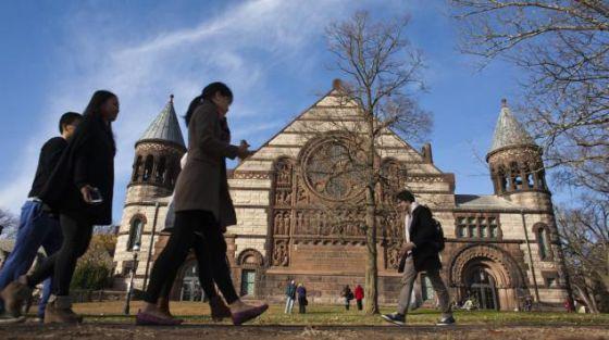 Campus da Universidade de Princeton.