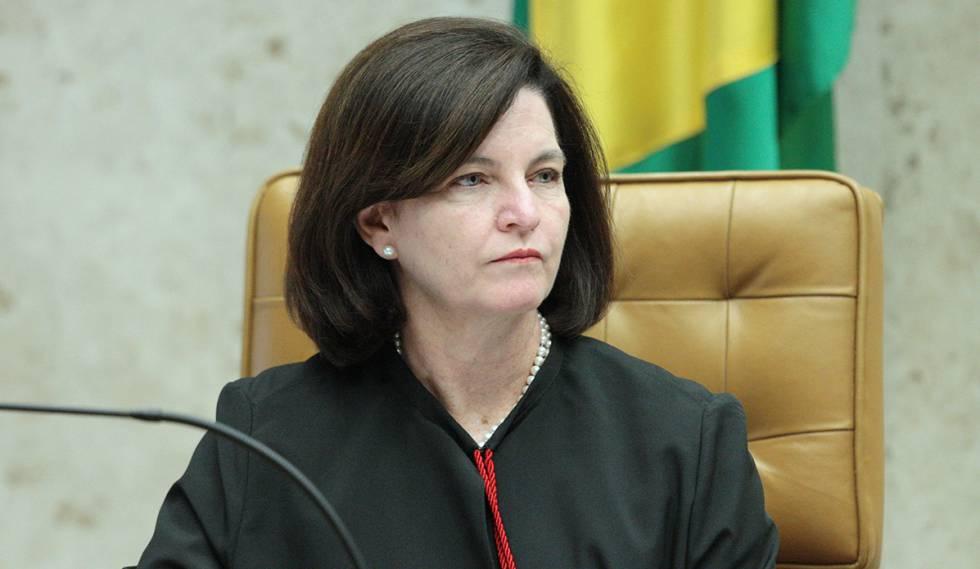 A procuradora-geral da República, Raquel Dodge, no STF em 2017.
