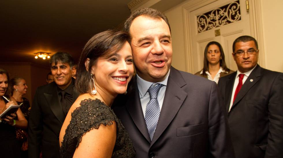 Adriana Ancelmo e Sergio Cabral, em 2011, alvos da Lava Jato.