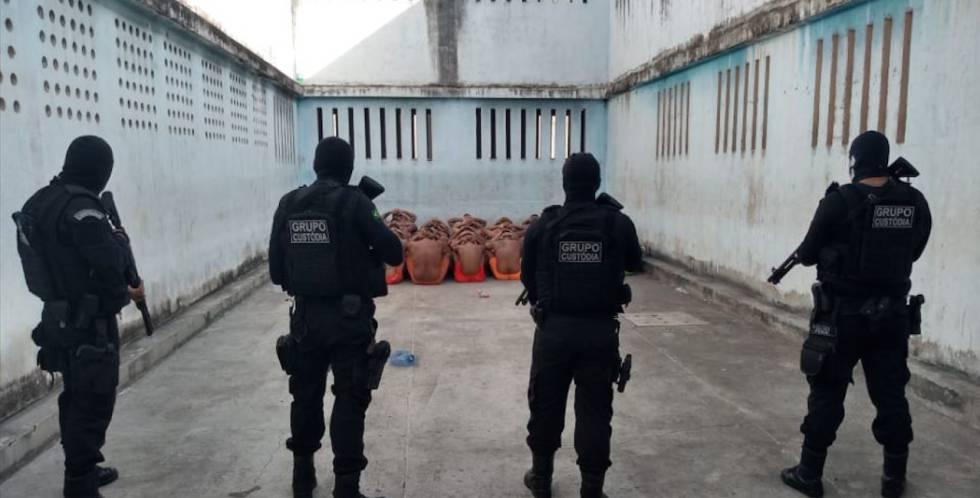 Uma das unidades do CPPL (Casa de Privação Provisória de Liberdade), em Fortaleza.
