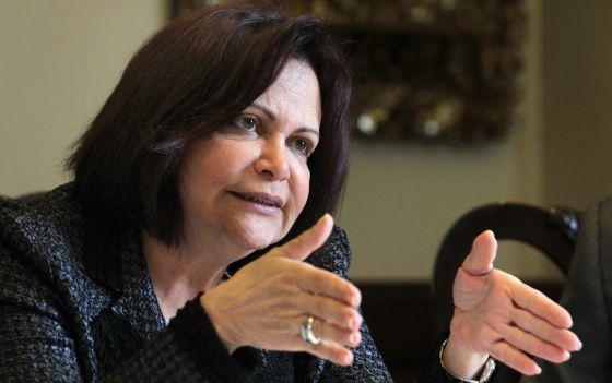 A diretora regional da OIT para a América Latina e o Caribe, Elizabeth Tinoco.