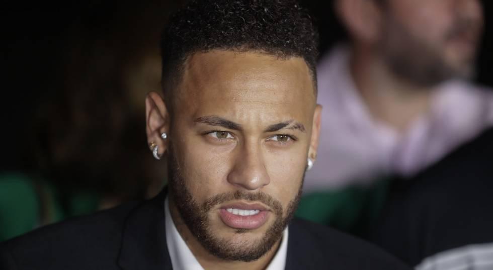 Neymar, em São Paulo.